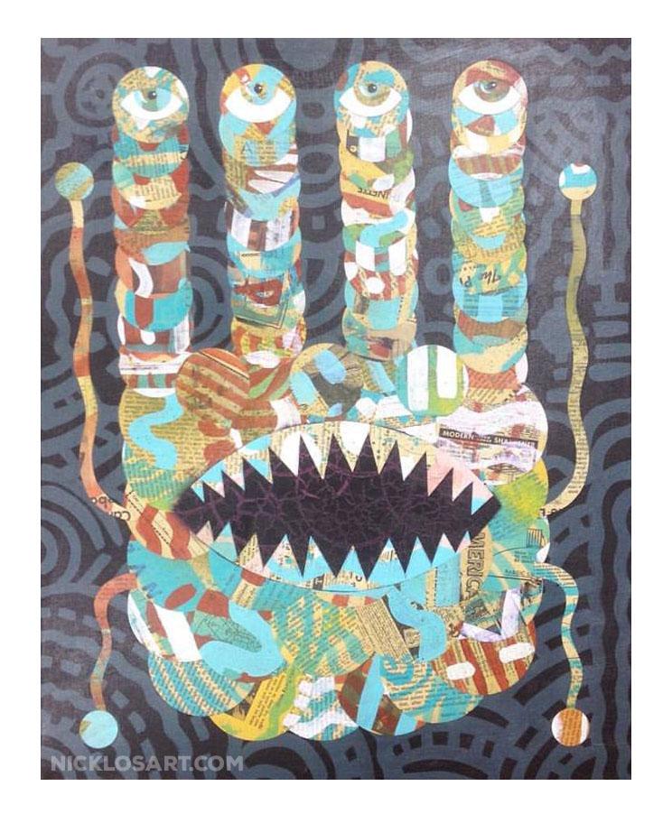 Monster Folk Art