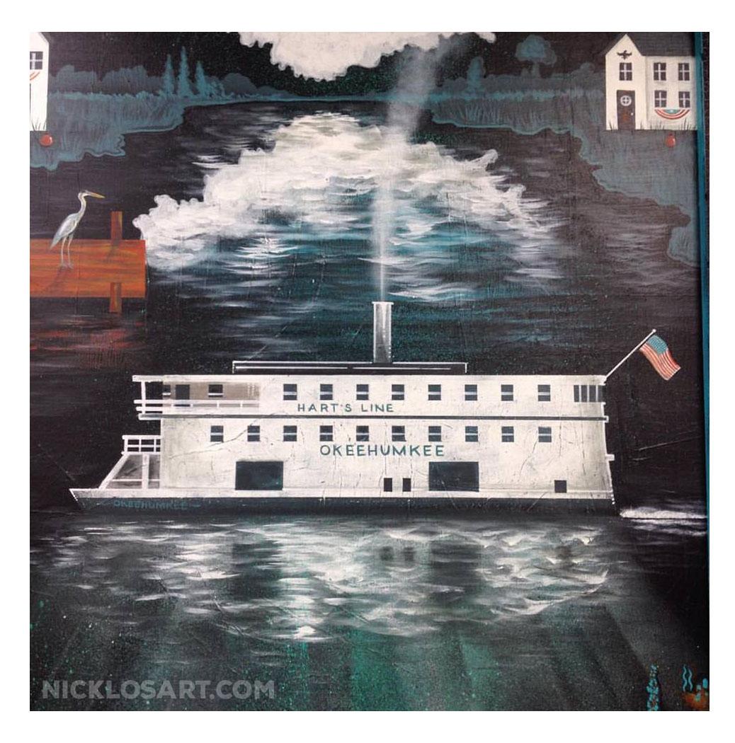 Steamboat Folk Art