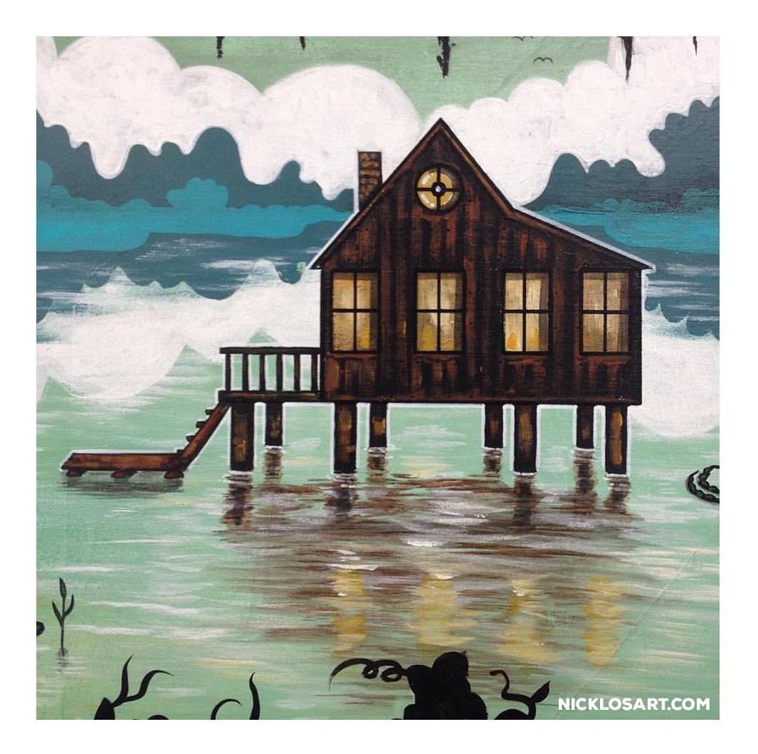 Swamp House Folk Art