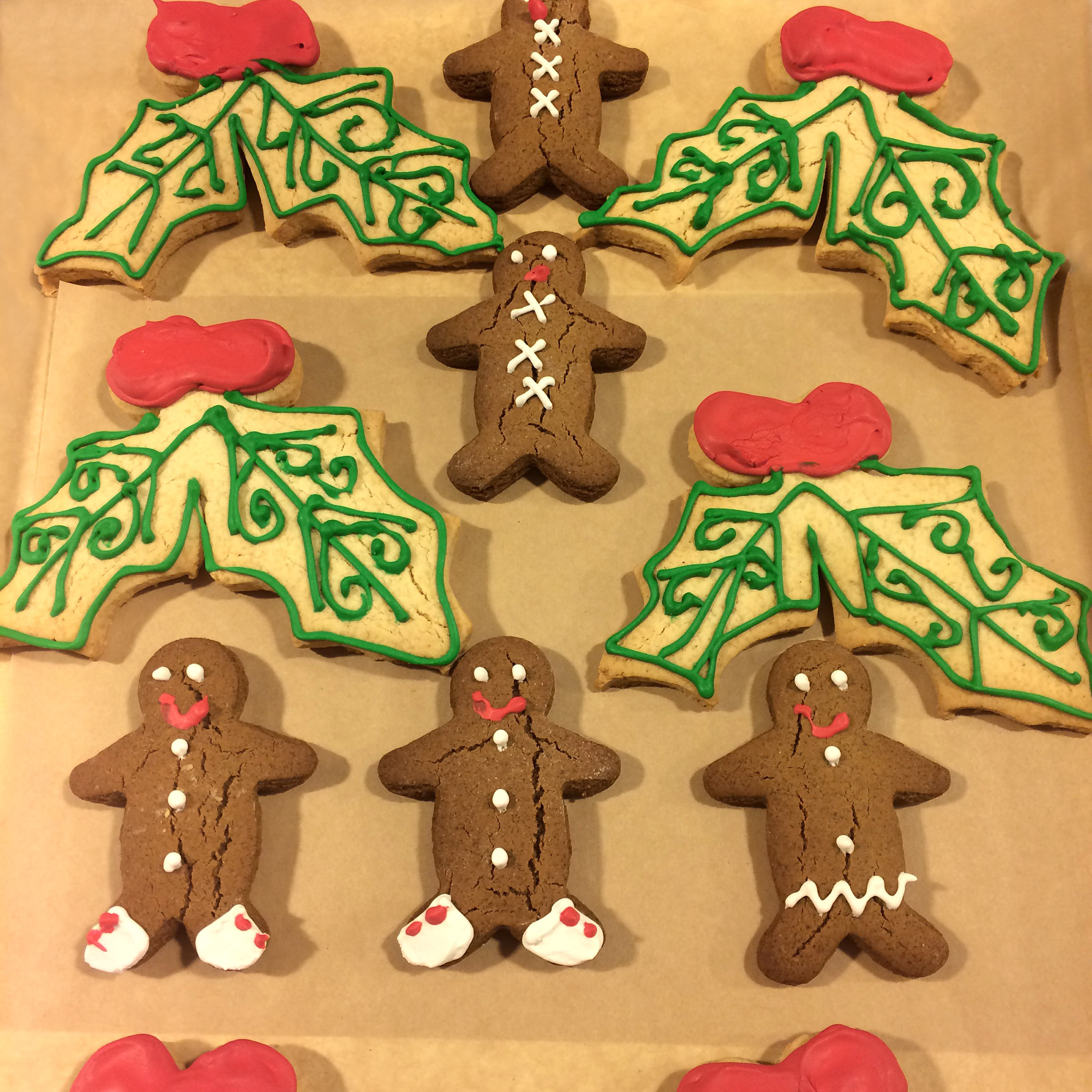 Holiday Cookies.