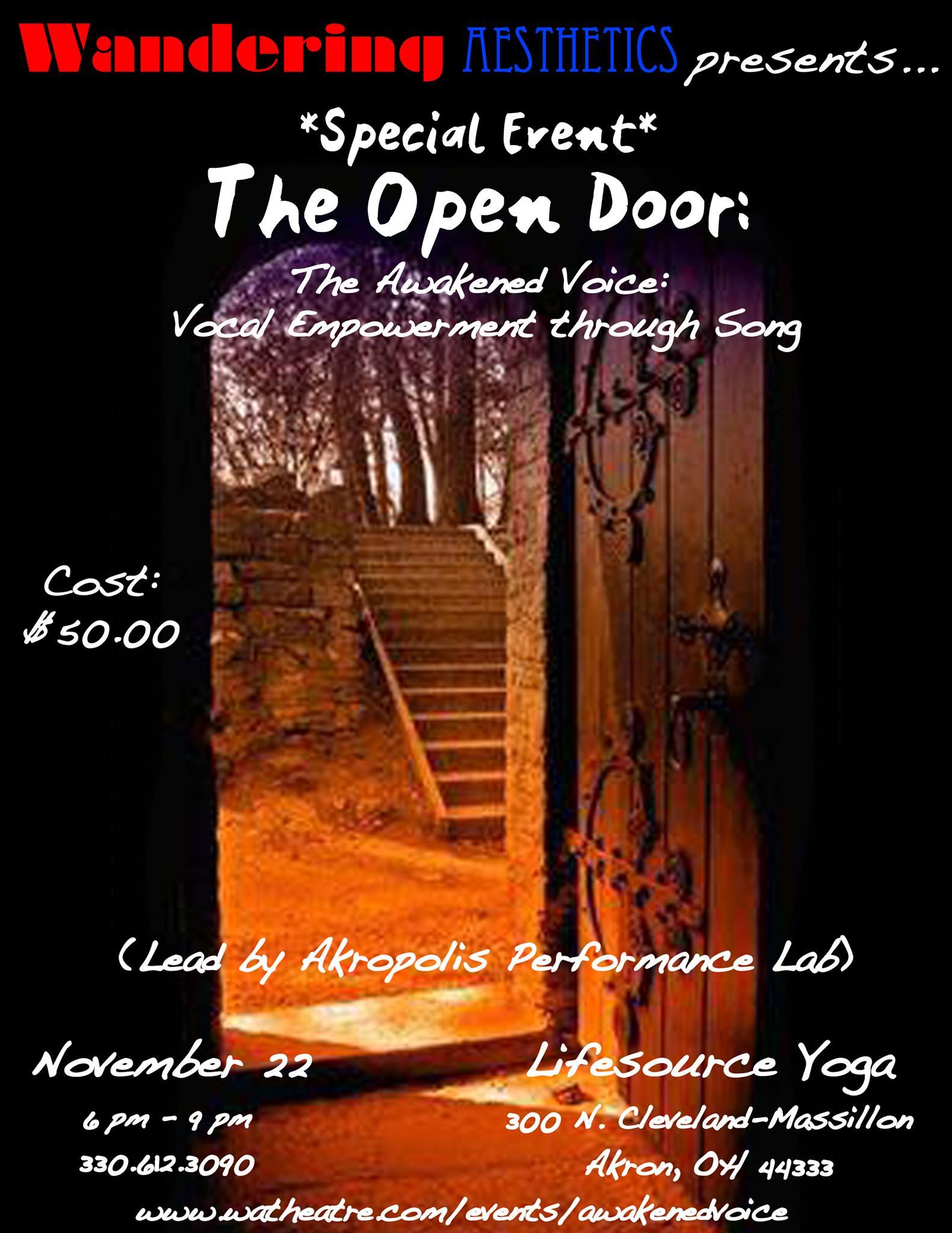 The Open Door Nov..jpg