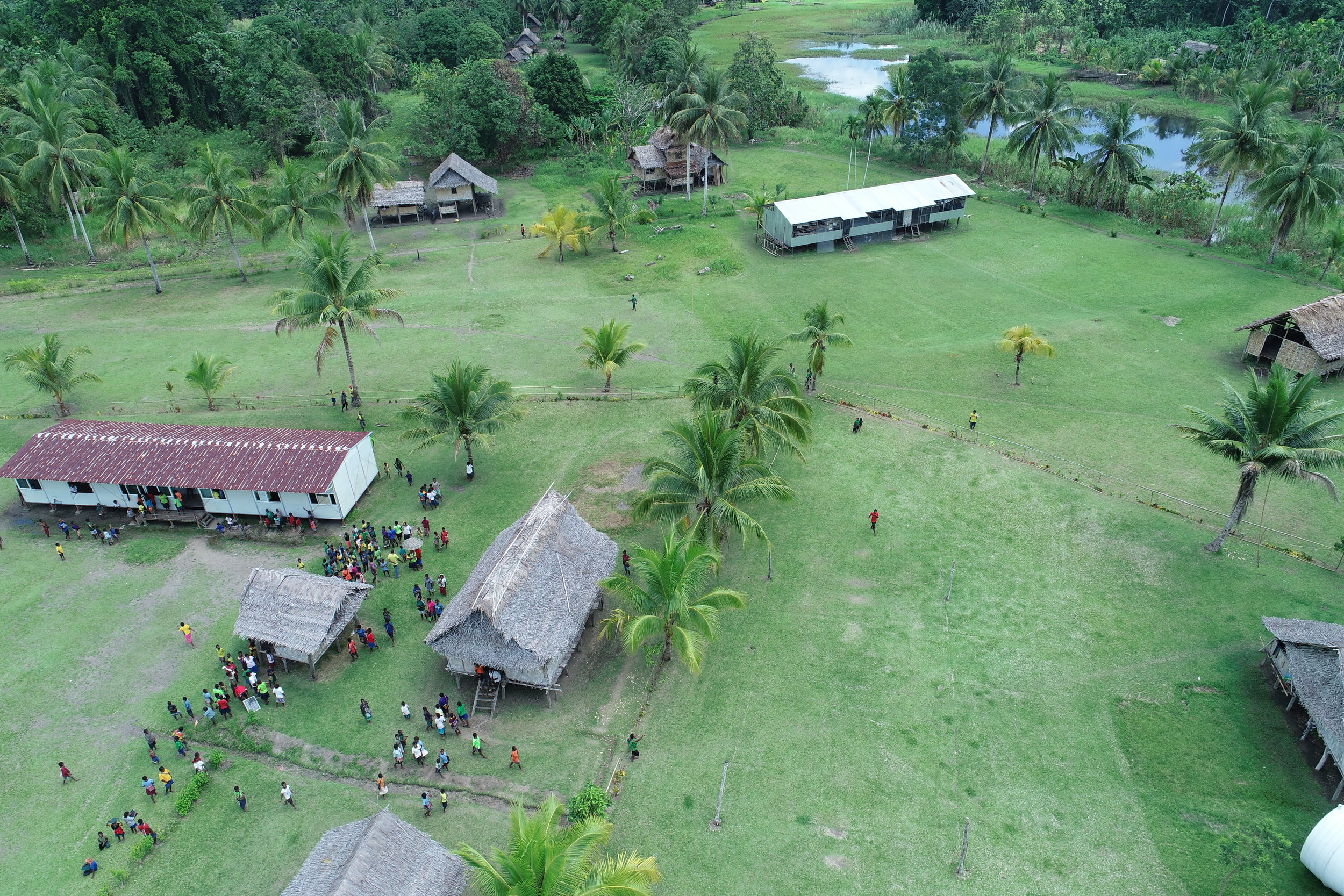 Middle Ramu Community Aerial