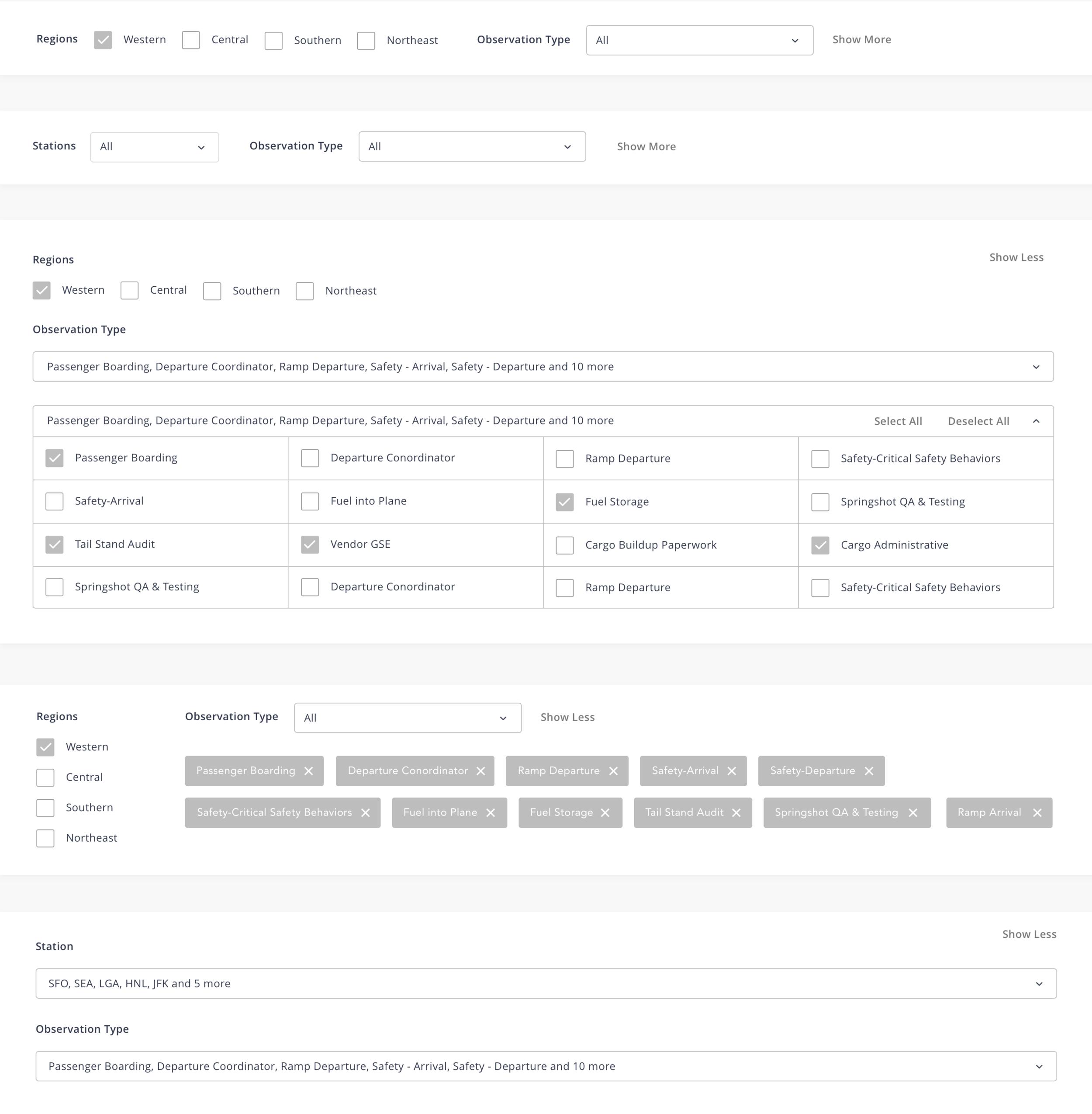 Copy of V4 Multi-select Style Explore