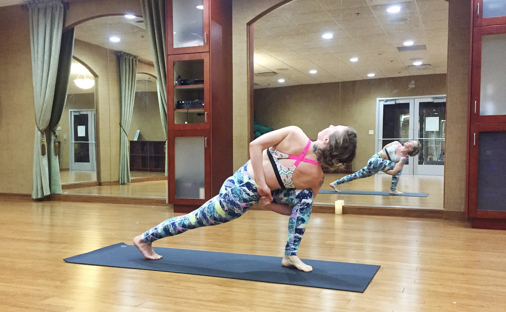 Extended Side Angle Pose, Bound