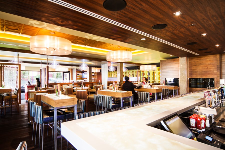 Foto del día de apertura de uno de nuestros proyectos de restaurantes.
