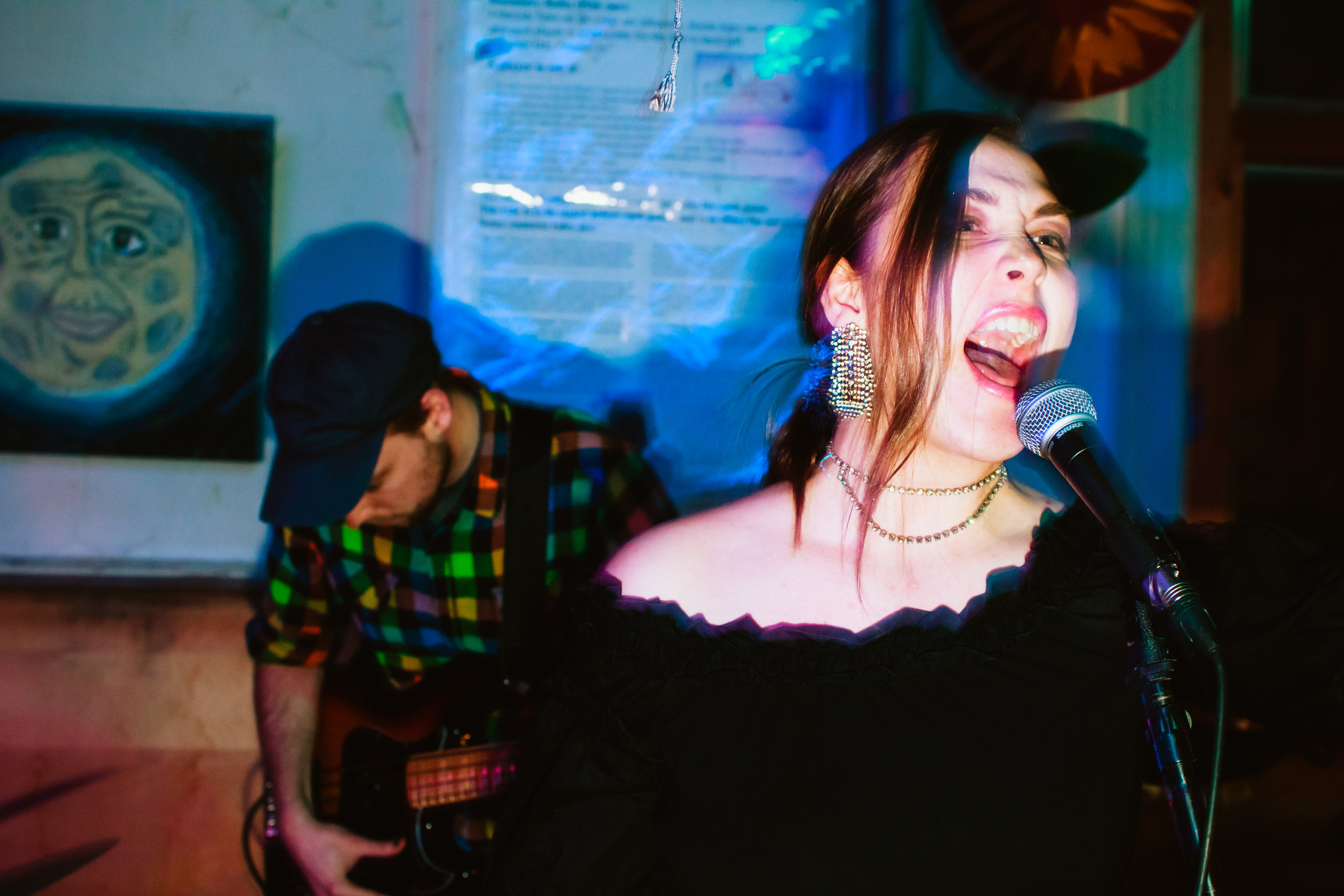 saajtak live at Arbor Vitae, Ann Arbor, March 2016.