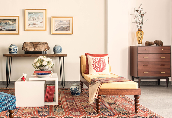 english kitsch look featuring noma chest of drawers