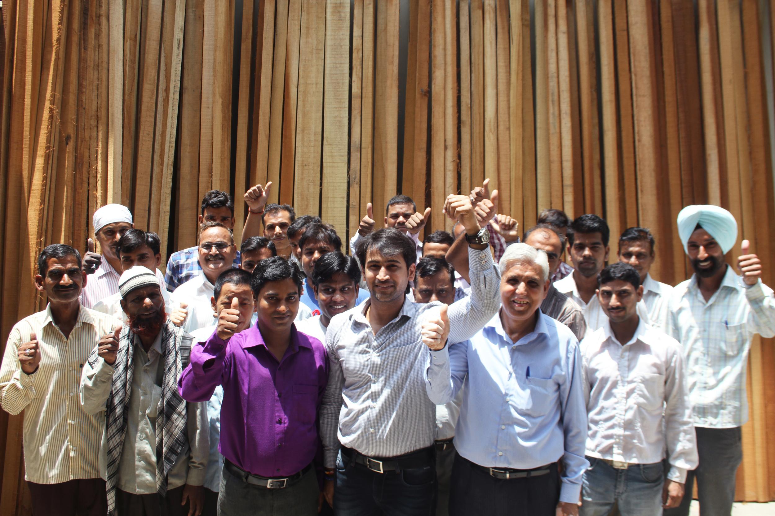 india craftsmen and furniture makers workshop