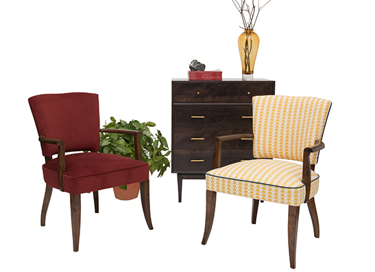 colonial collection featuring shimla chair and noma cod