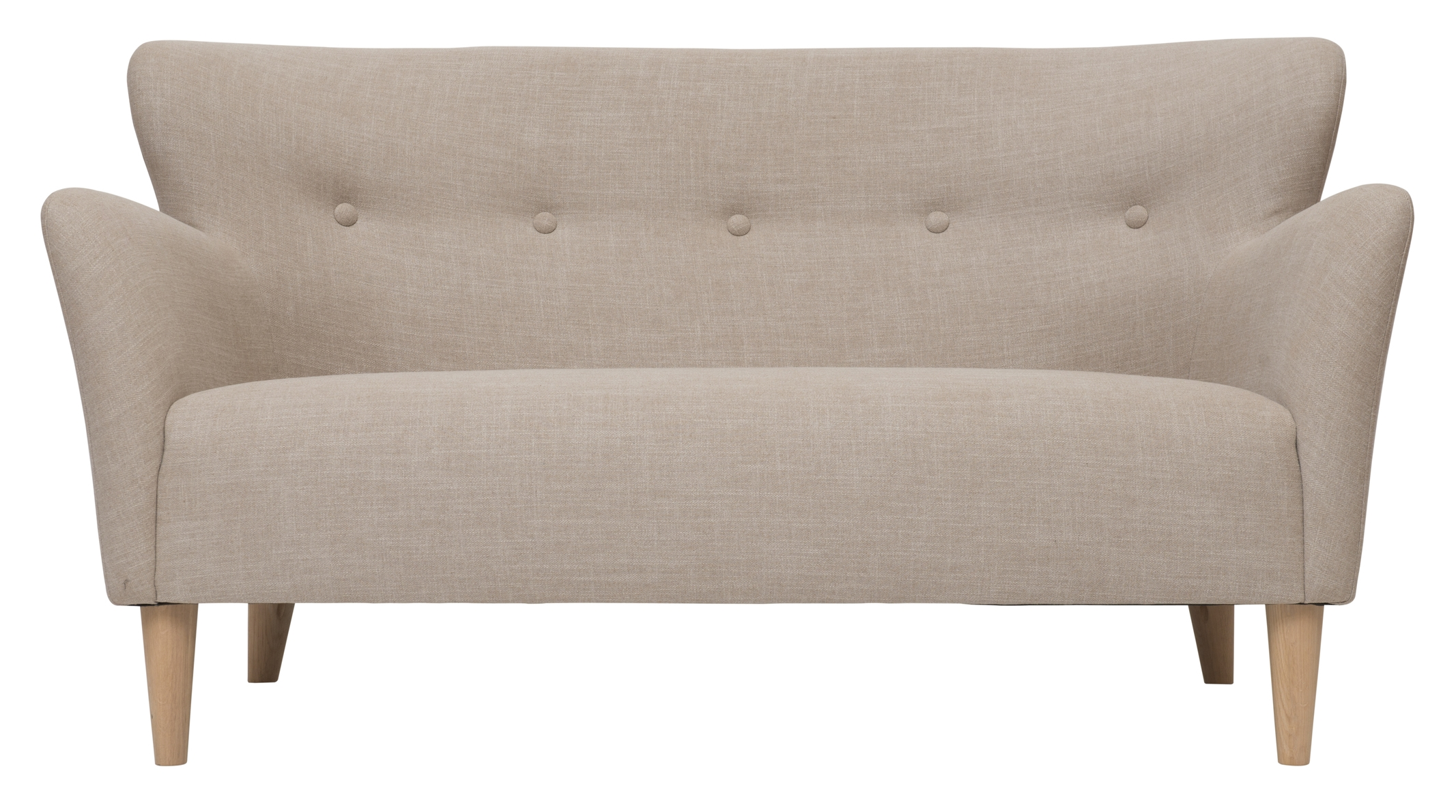 Large peggy sofa in skin beige