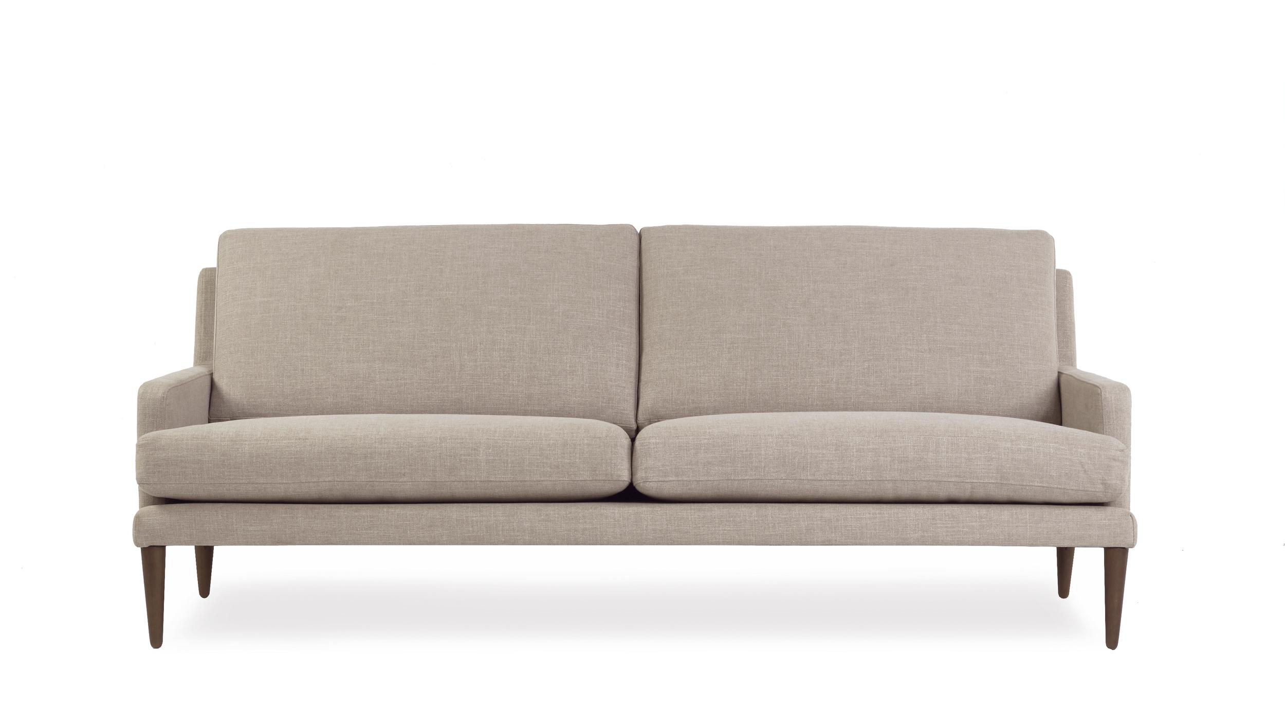 Brooklyn 3 seater sofa in neutral beige skin colour
