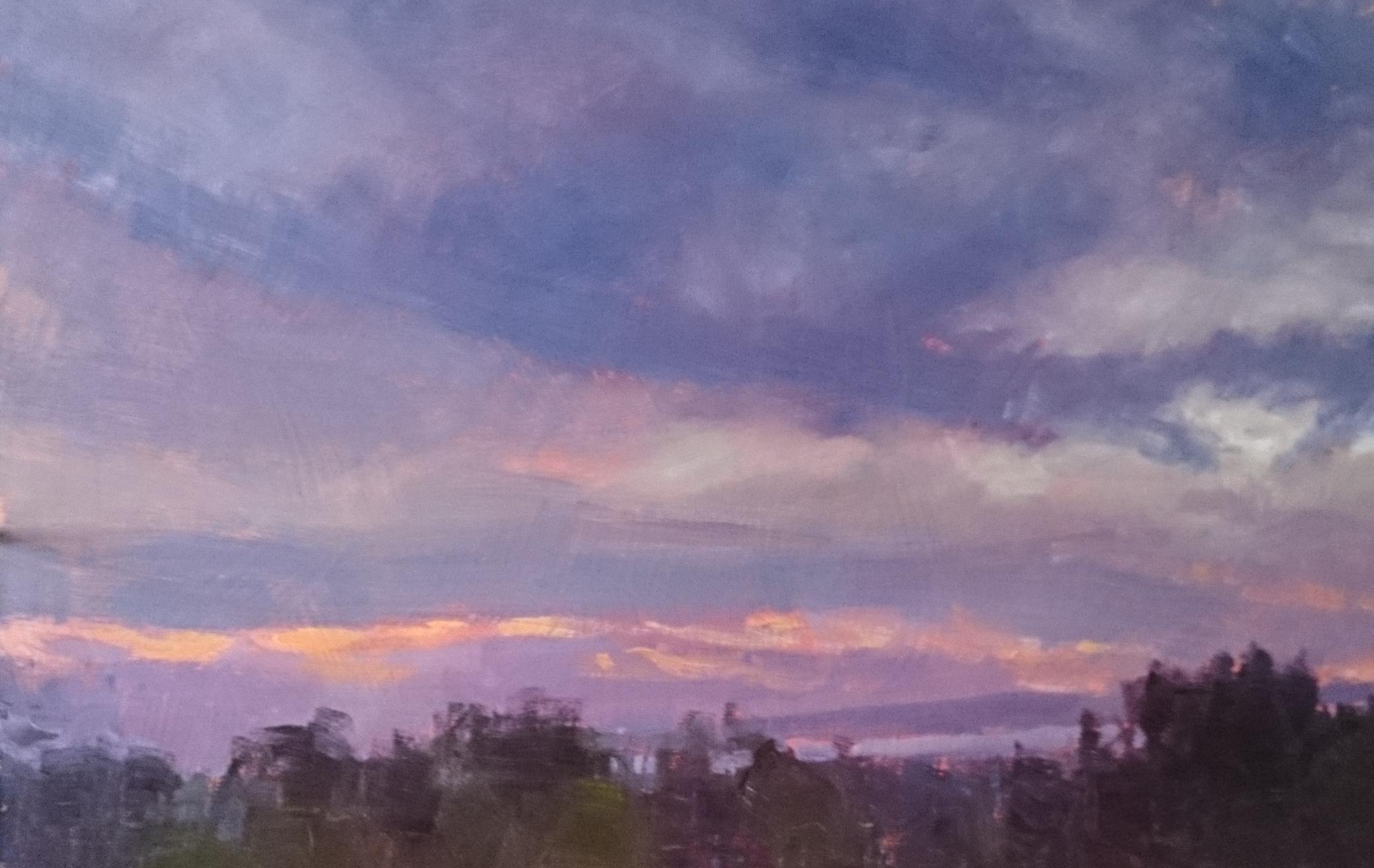 Evening Sky. Kings Beach. Caloundra.