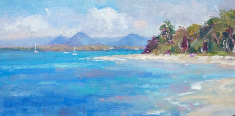 Turquoise Waters. Bribie Island. Qld