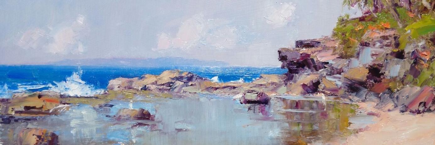 Shelly Beach Reflections. Caloundra