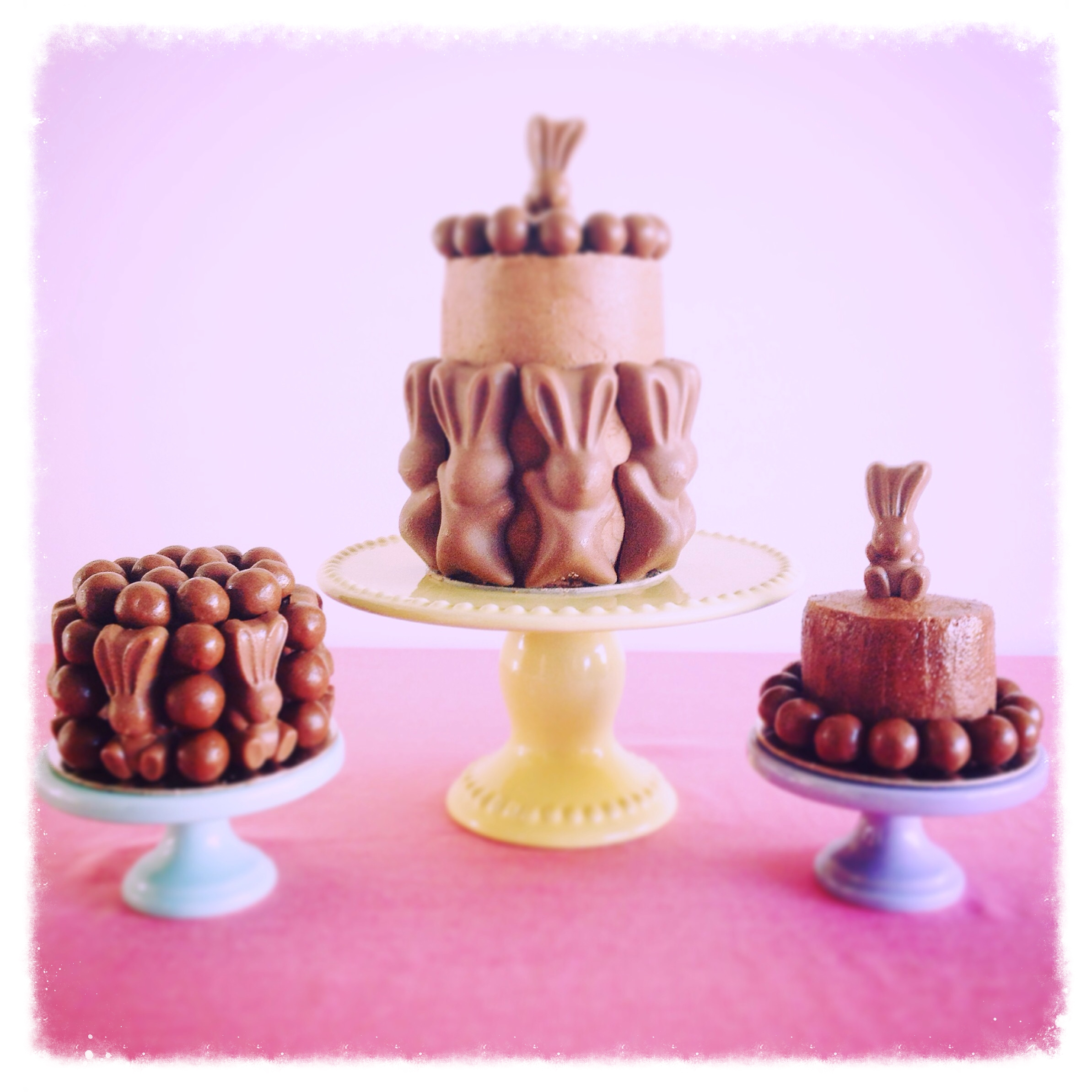 easter celebration mini cakes