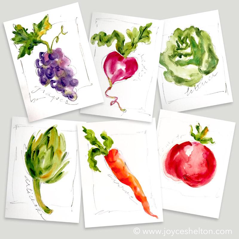 Watercolor Sketching @ joyceshelton.com