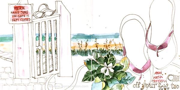 Watercolor Journaling @ joyceshelton.com