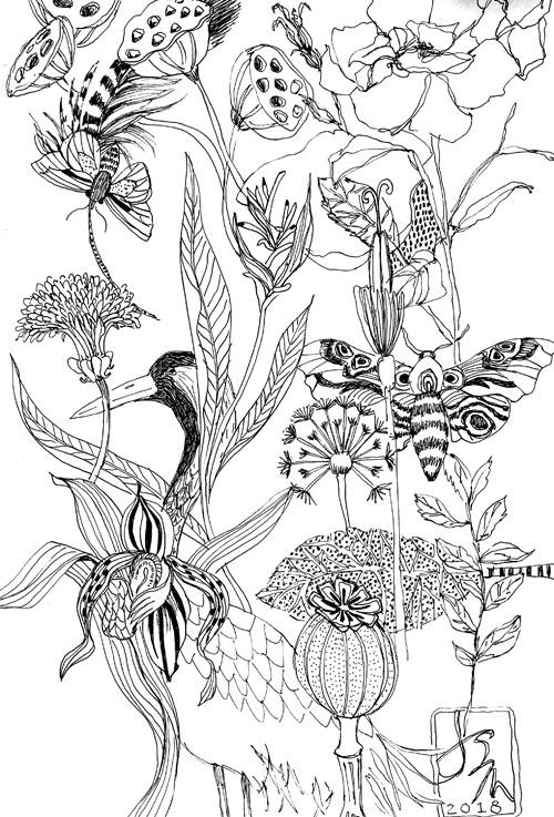 ©Joyceshelton.com • Daily Sketchbook  • September 17