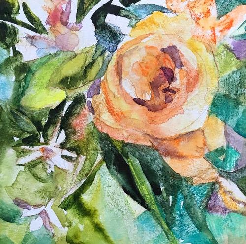 Watercolor Floral ©Joyce Shelton