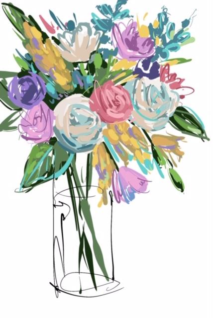 Colorful Bouquet ©Joyce Shelton