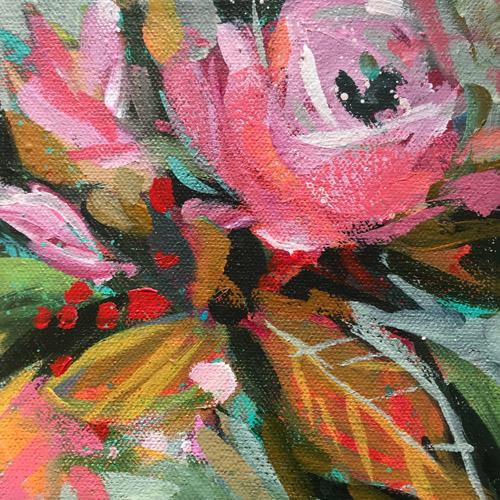 Day 10 • 6X6 Acrylic On Canvas