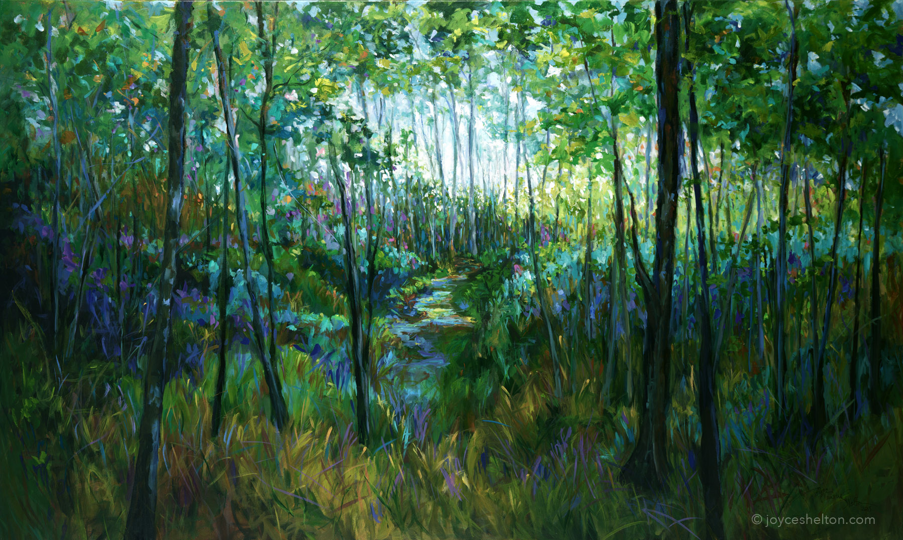 Sacred Grove • SOLD