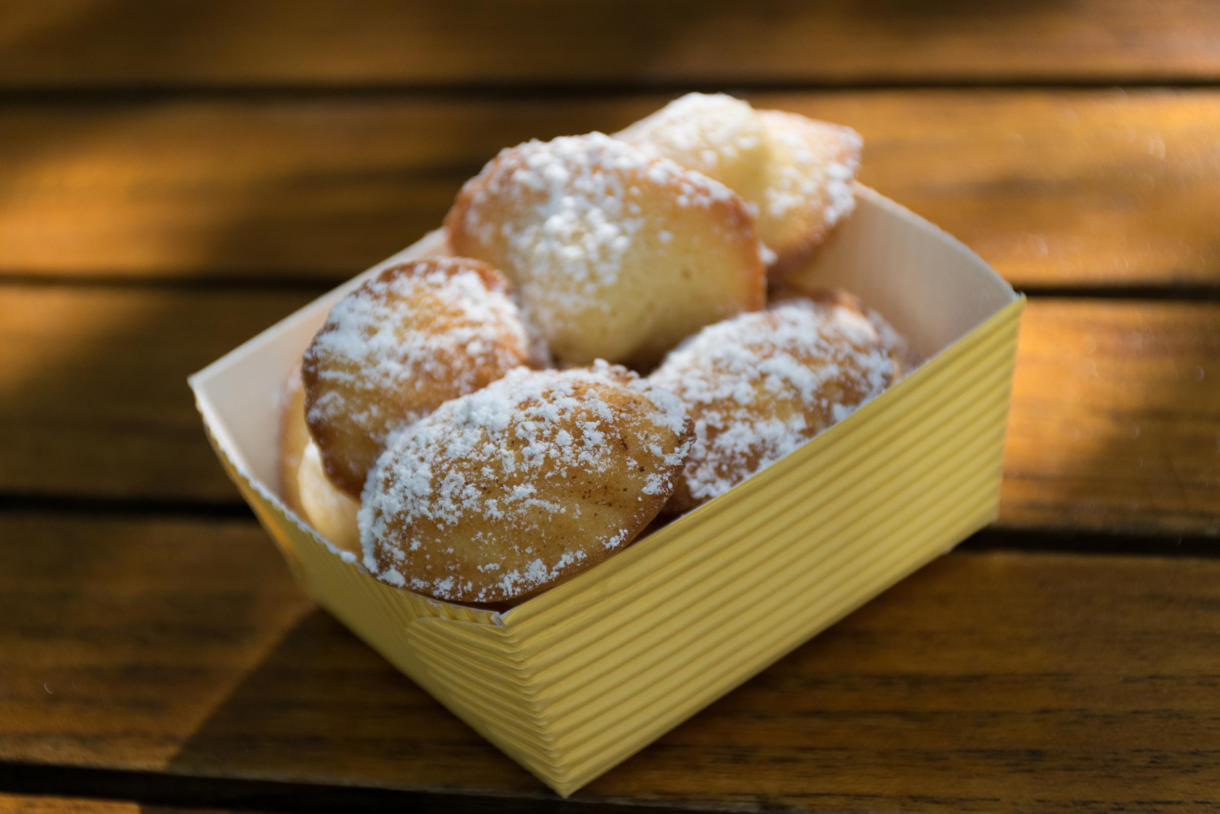 Heaven in mini madeleines. Yummmmmm (Dominique Ansel)