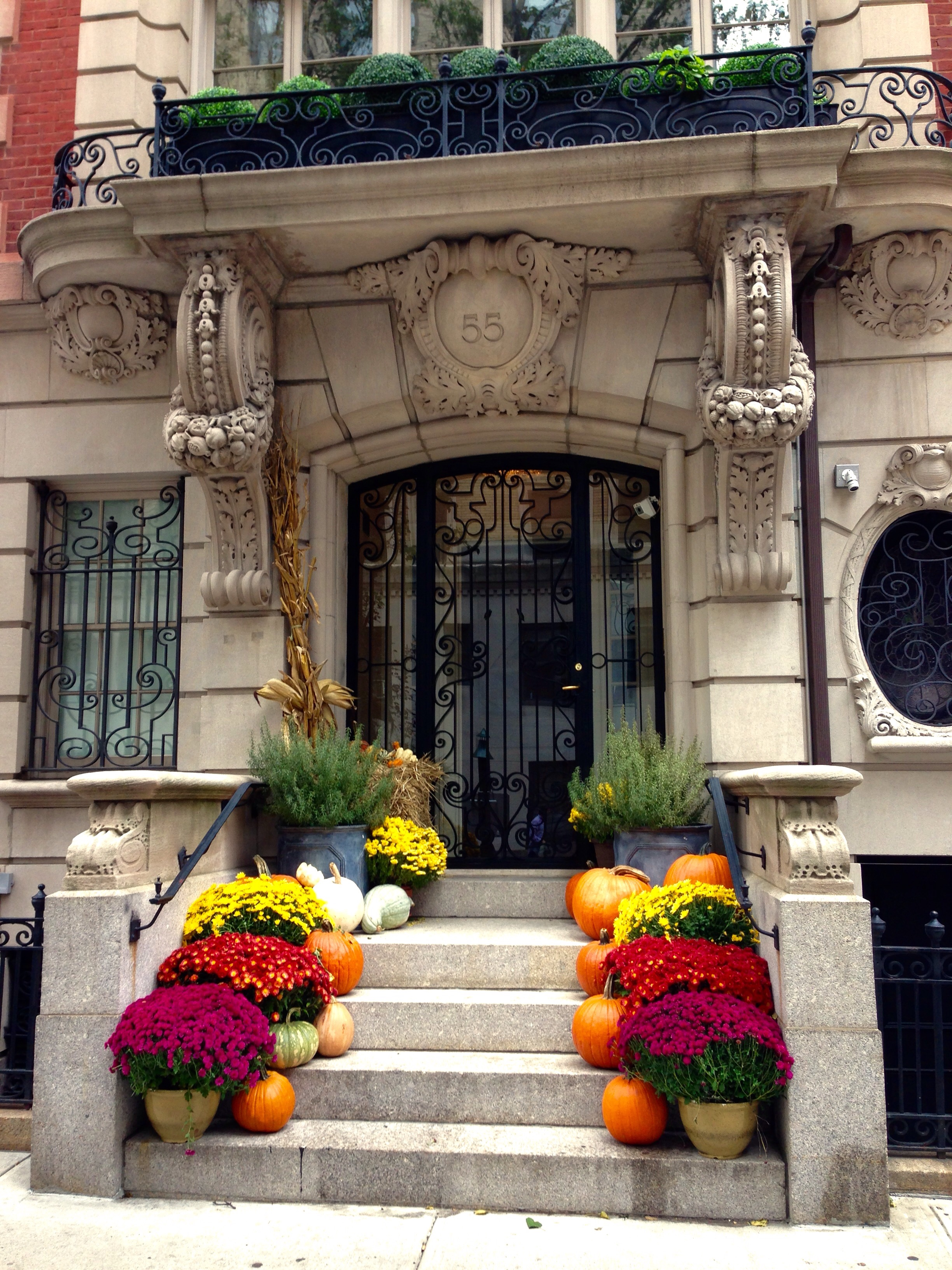 Fall decorations in full swing!