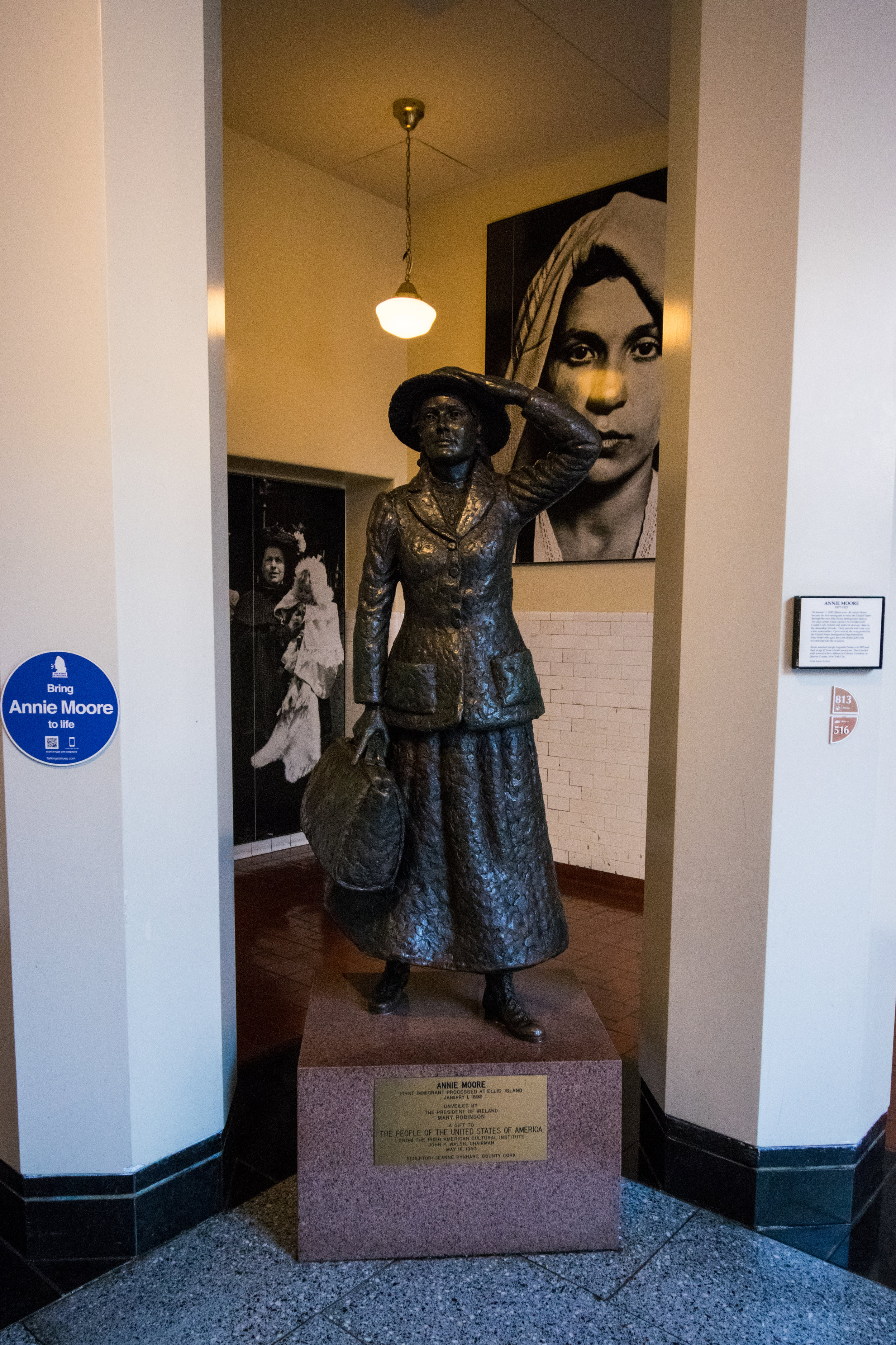Ellis Island's first immigrant, Annie Moore