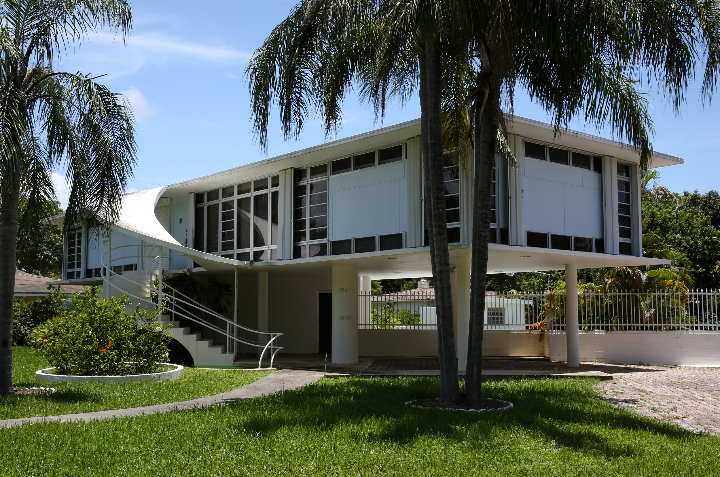 Morningside neighborhood, Miami. Architect: Rufus Nims