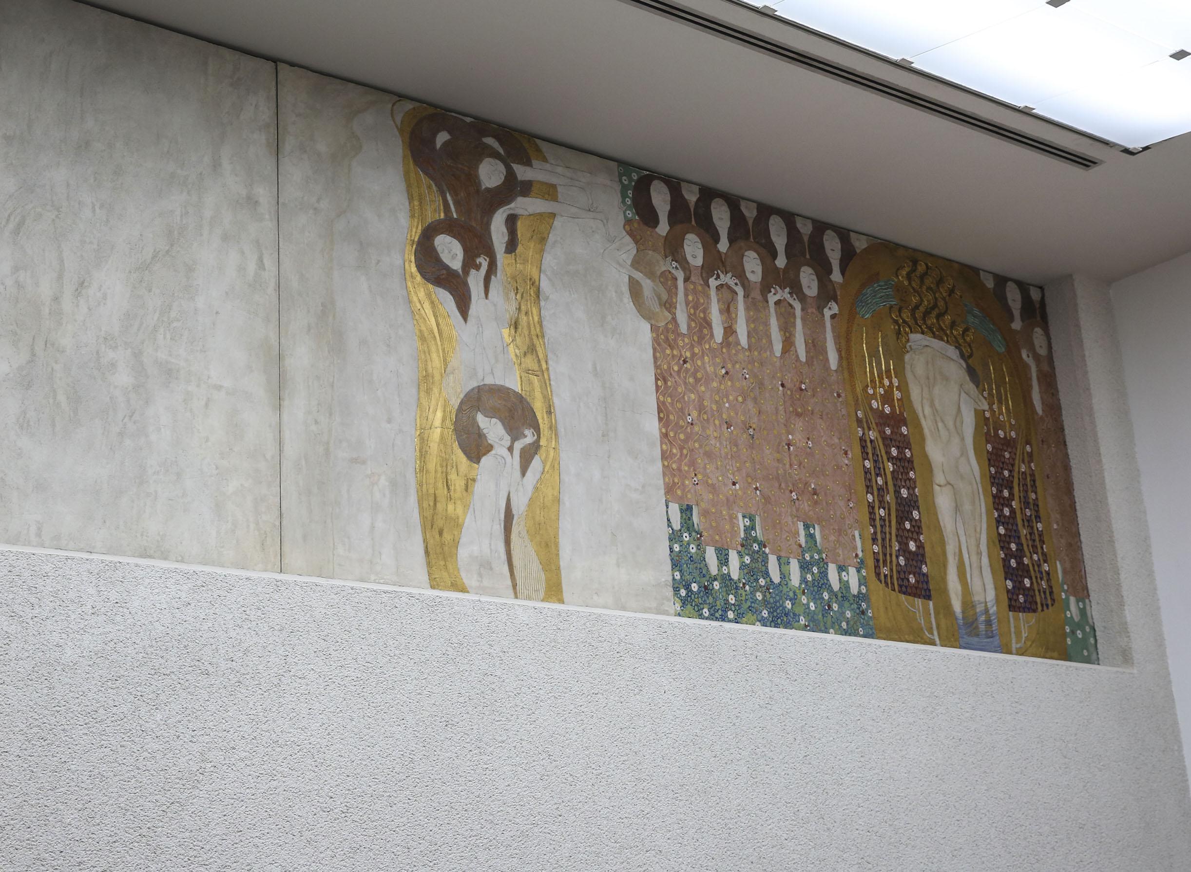 Klimt's Beethoven Frieze at Vienna Secession