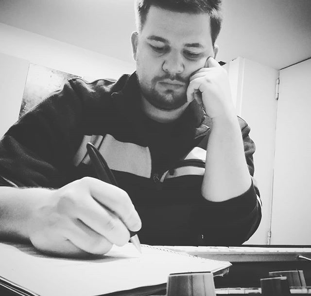 Long day with great music and a very focused engineer. #deep #mastering #masteringengineer #musicproduction #music #pop #rock #art #thoughtful #blackandwhite