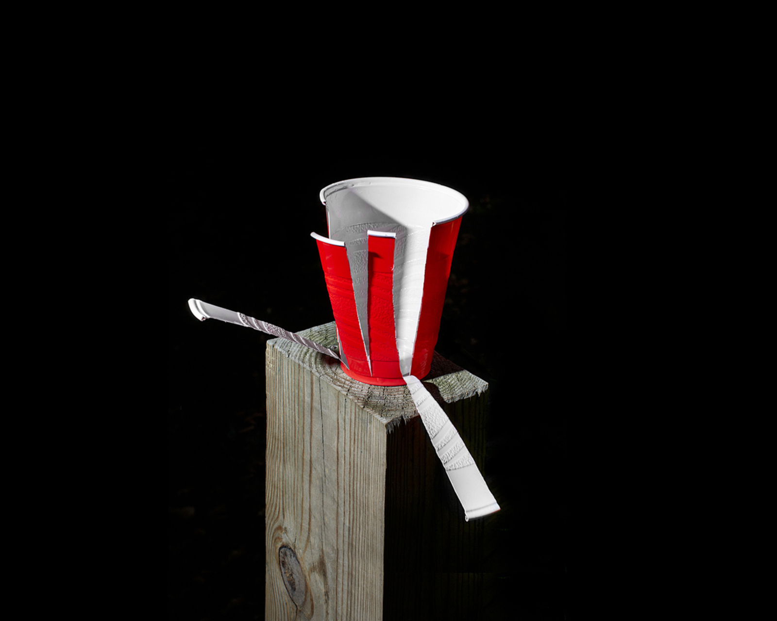 Solo Cup , 2016, 8 x 10 inches