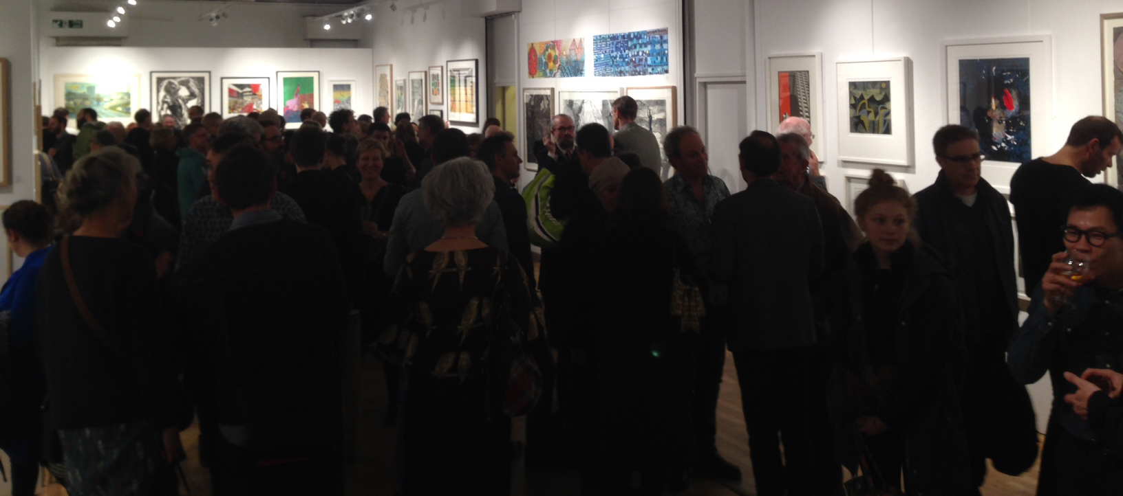 Private view at Bankside Gallery, Tuesday 3rd November