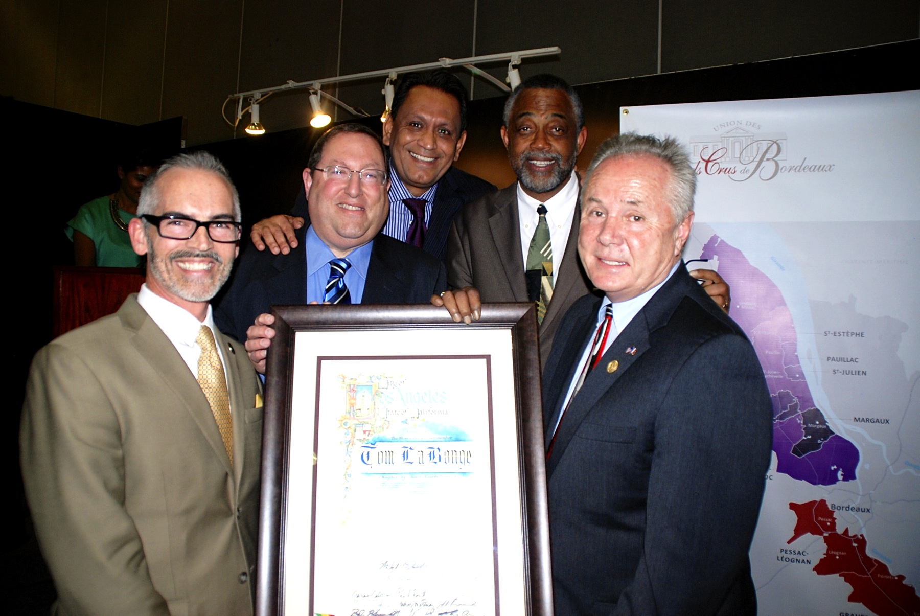 Councilmember Mitch O'Farrell, Council District 13, Councilmember Paul Koretz, Council District 5, Councilmember Gil Cedillo, Council District 1, Councilmember Curren D. Price, Jr., Council District 9, Councilmember Tom LaBonge, Council District 4