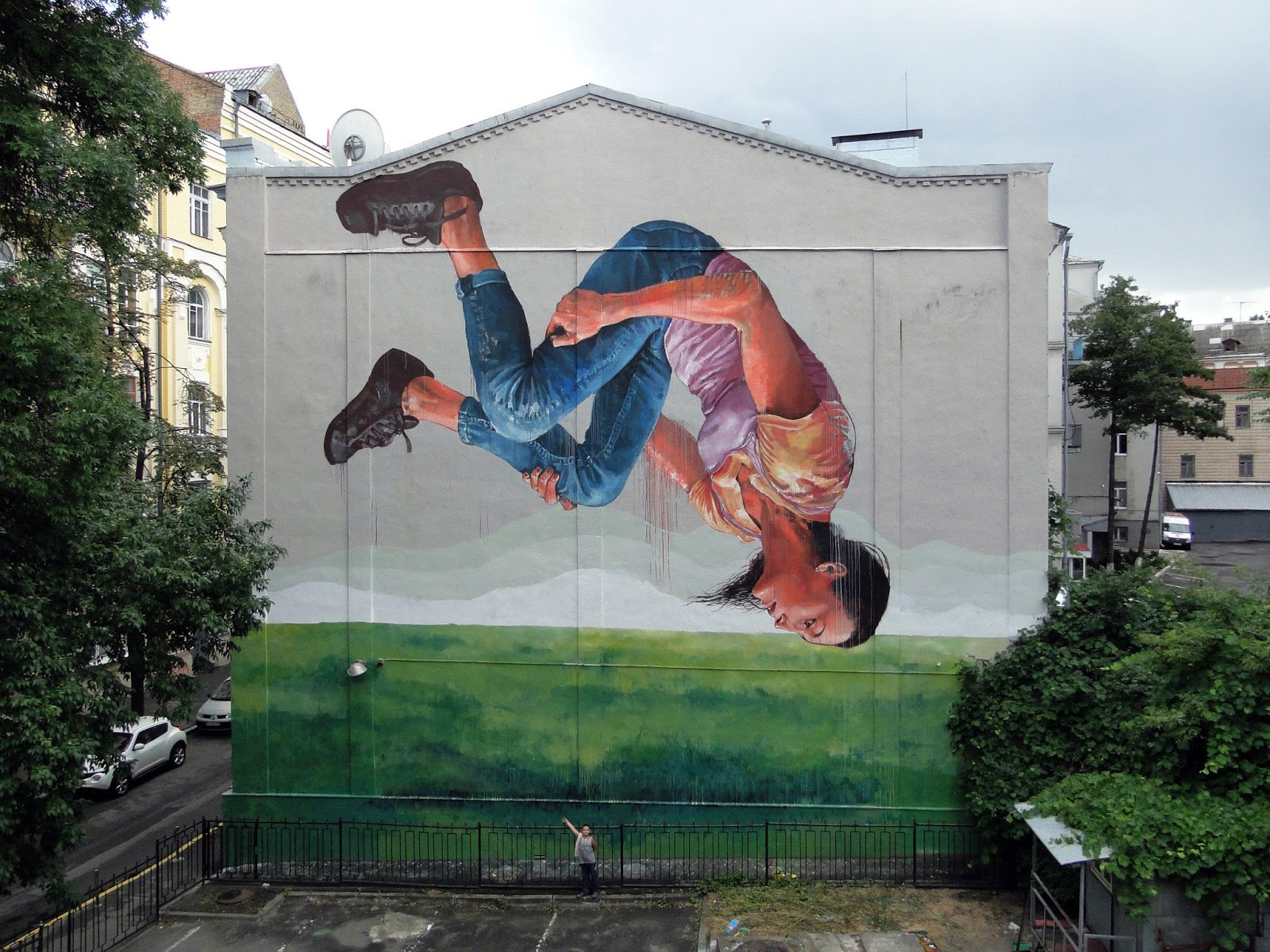 The dreamer, by Fintan Magee.