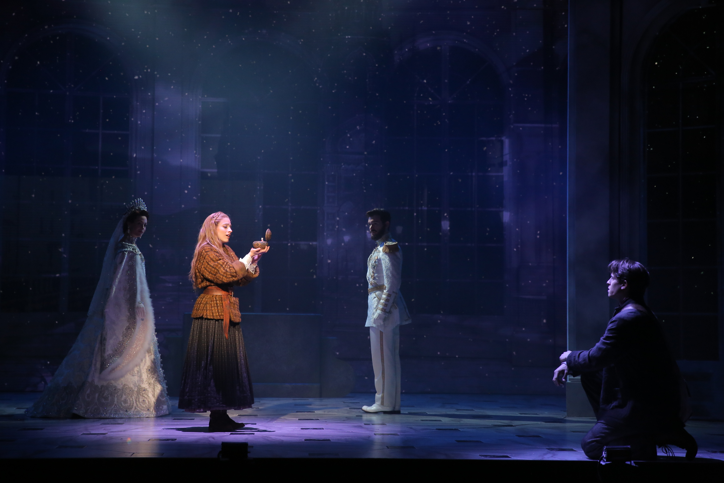 Photo by Joan Marcus Featuring Lauren Blackman, Christy Altomare, Constantine Germanacos, & Derek Klena