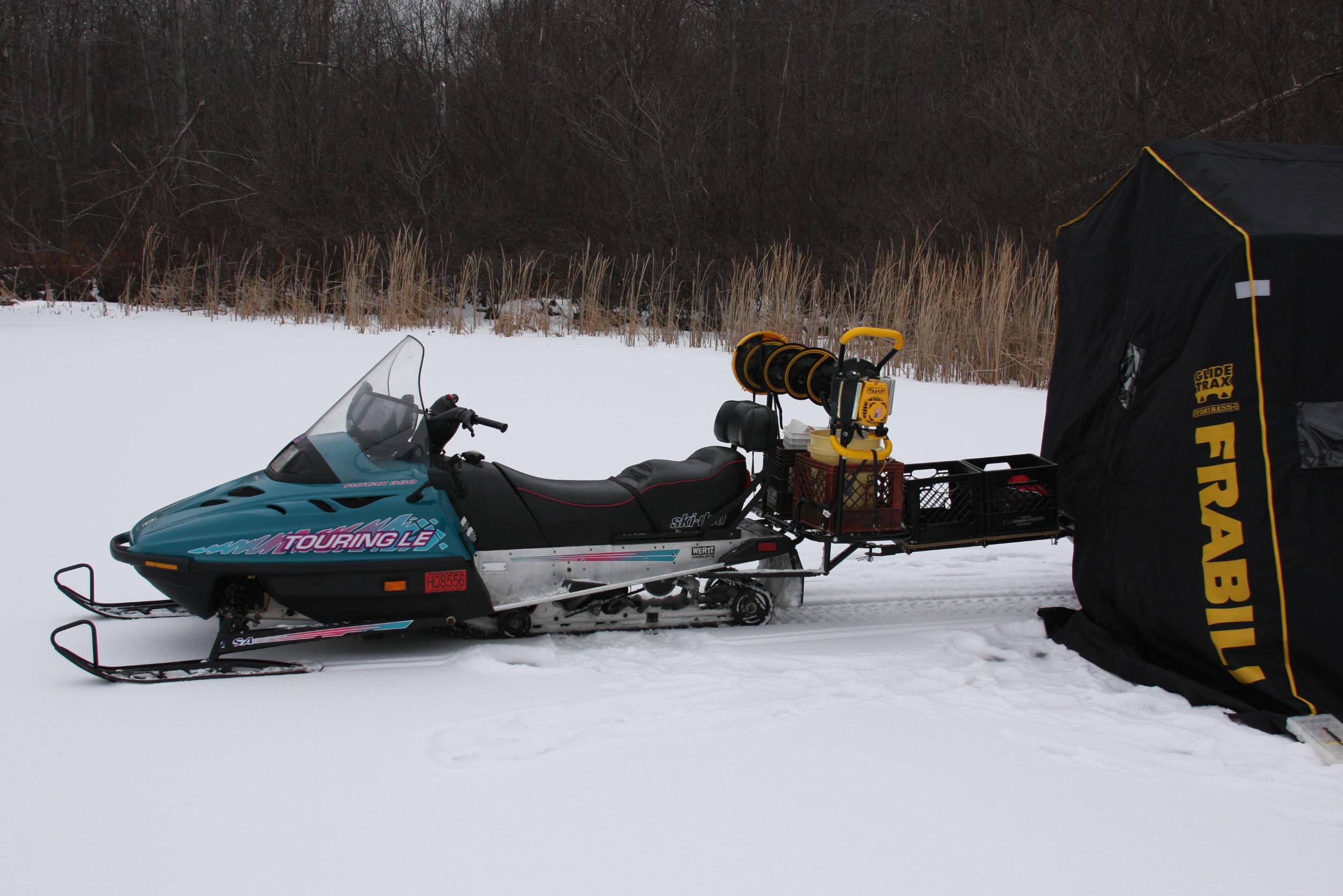Snowmobile Cargo System