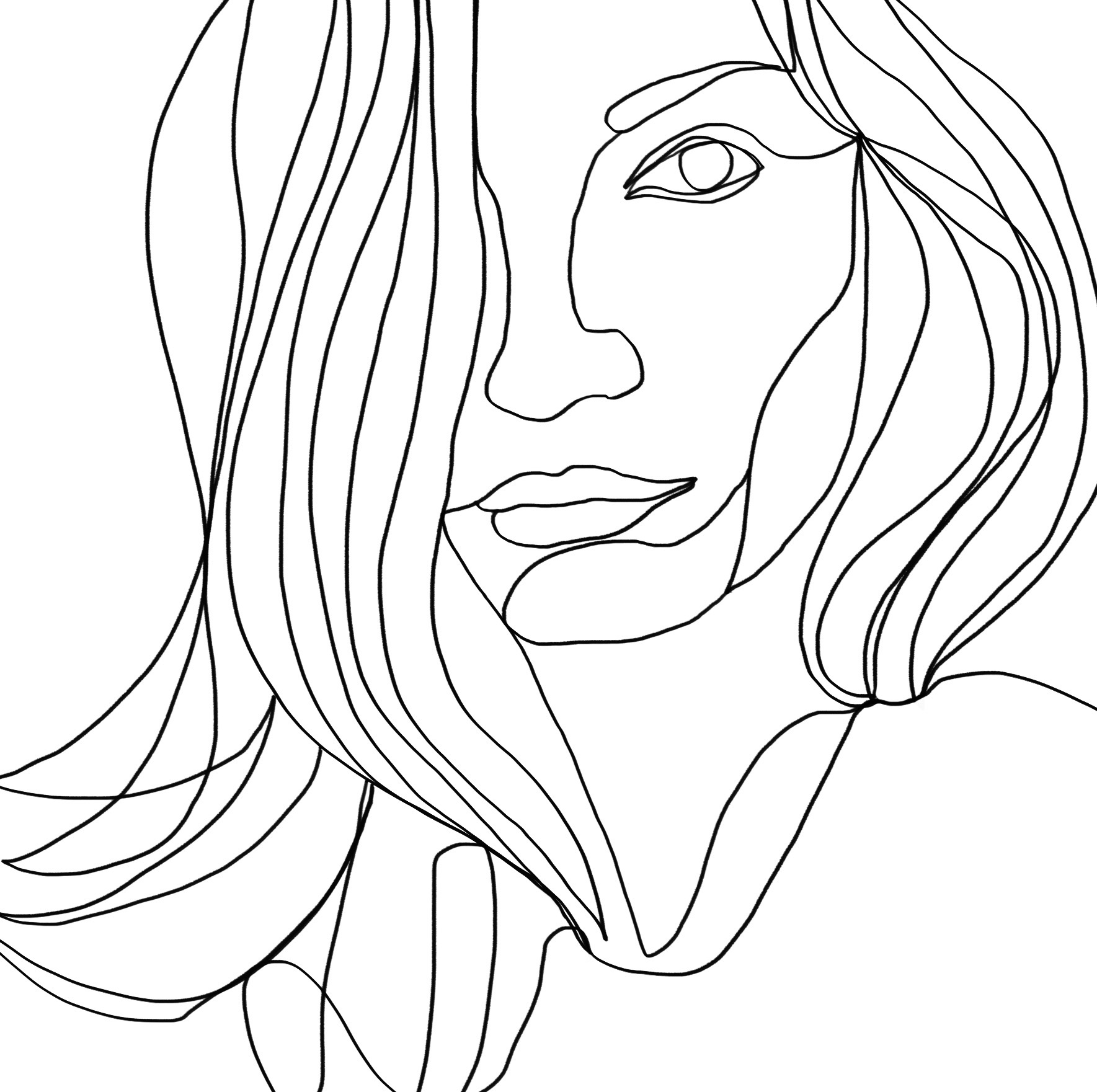 selfportrait continuous linedrawing ashleychase.jpg