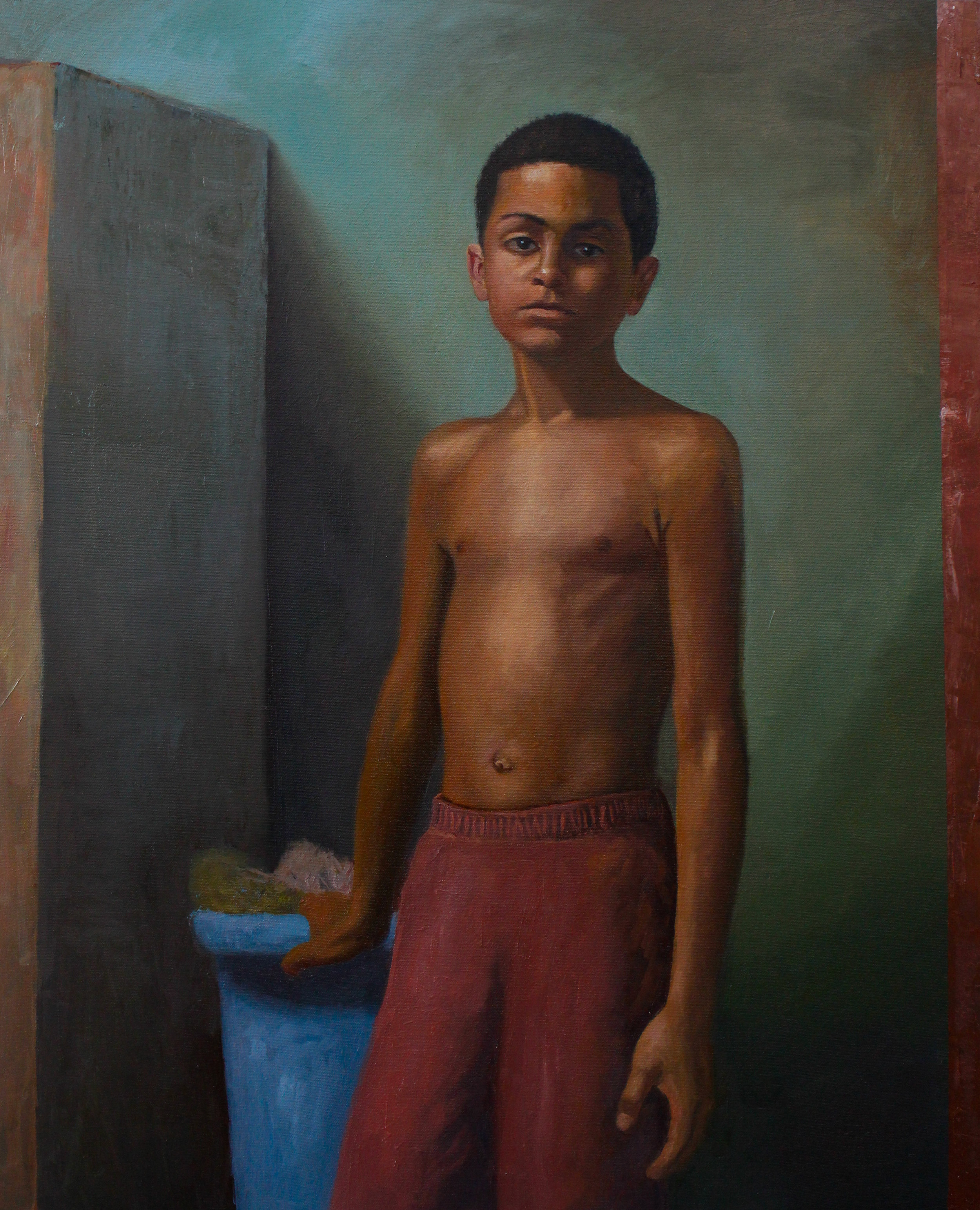 A Portrait of A Young Dominican Boy
