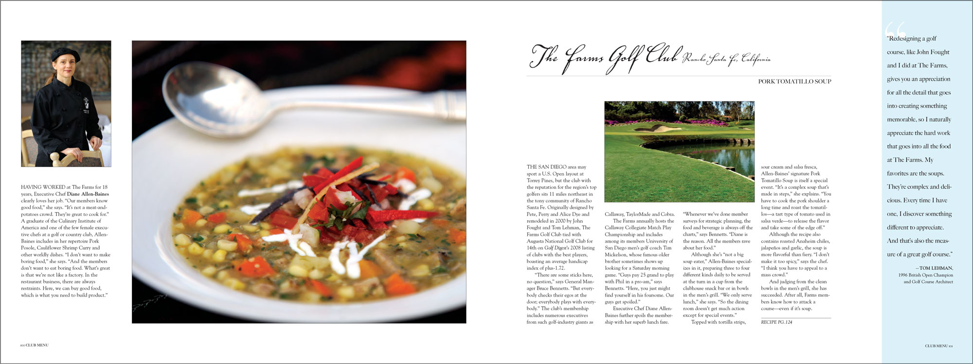 The Farms Golf Club, Rancho Santa Fe, California.