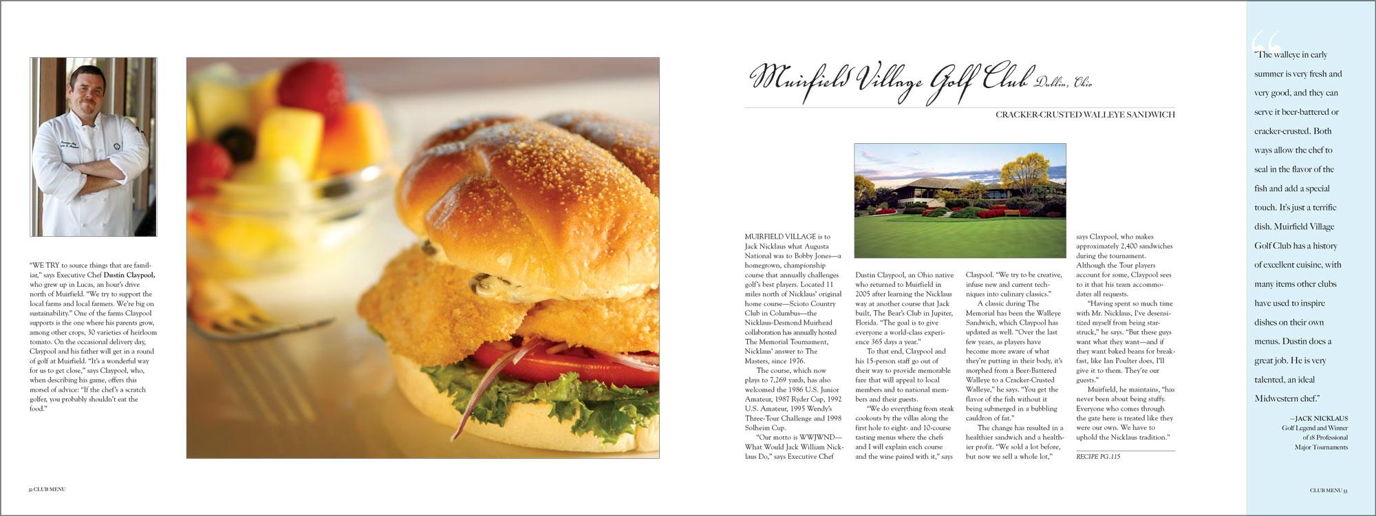 Muirfield Village Golf Club, Dublin, Ohio.