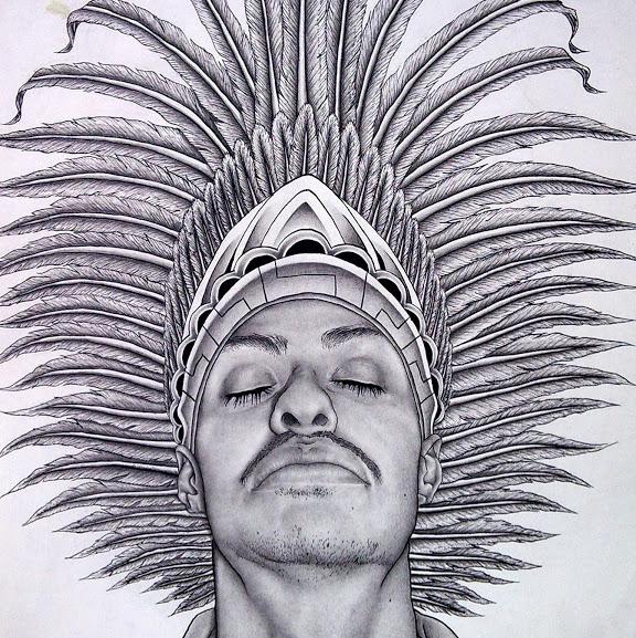 Marco Hernandez, Self-Portrait, 2010