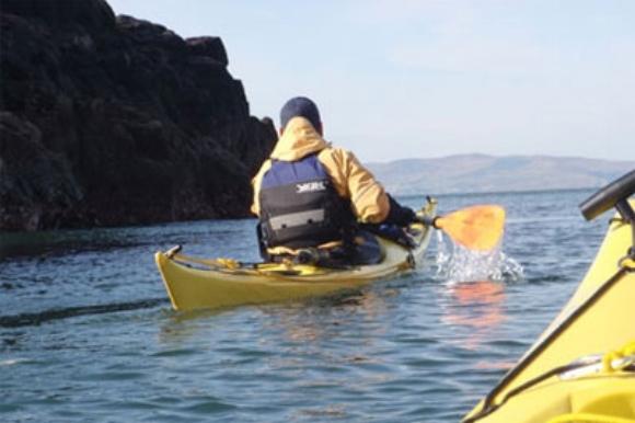 Kayaking off the North Coast