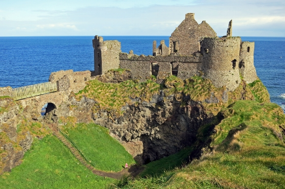Dunluce Castle, The Ruin on the Cliff