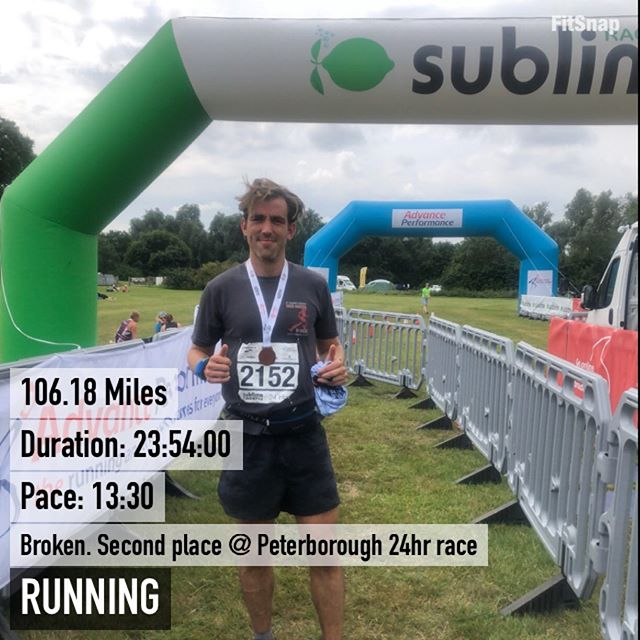 Broken. First and hopefully last 24-h race, somehow managed to churn out 106 miles and take second place, with a lot of thanks to a set of poles 🤪✌️ ⠀⠀⠀⠀⠀⠀⠀⠀⠀ #24hourrace 100miler #ultra #ultramarathon #PB #instarunners #justrun #marathon #marathontraining #running #run #parkrun #5km #runners #race #summer #ukrunners #fitness #runchat #ukrunchat #worldrunners #instarun #instarunners #runnersofinsta #runnersofinstagram #trail #ultrarunning