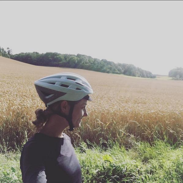 Close to Marlborough. Helmet: Lumos.