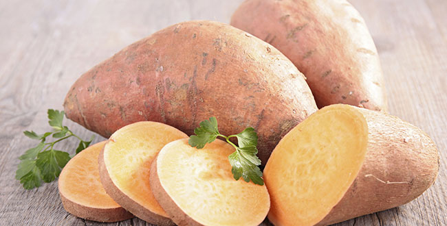 Sweet potato Photo by Thinkstock