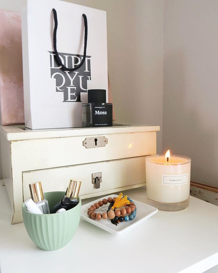 beauty is everywhere - My love for beautiful things doesn't stop at interior design. I live for beautiful makeup, skincare, candles and perfume. They make for the perfect styling props as well!