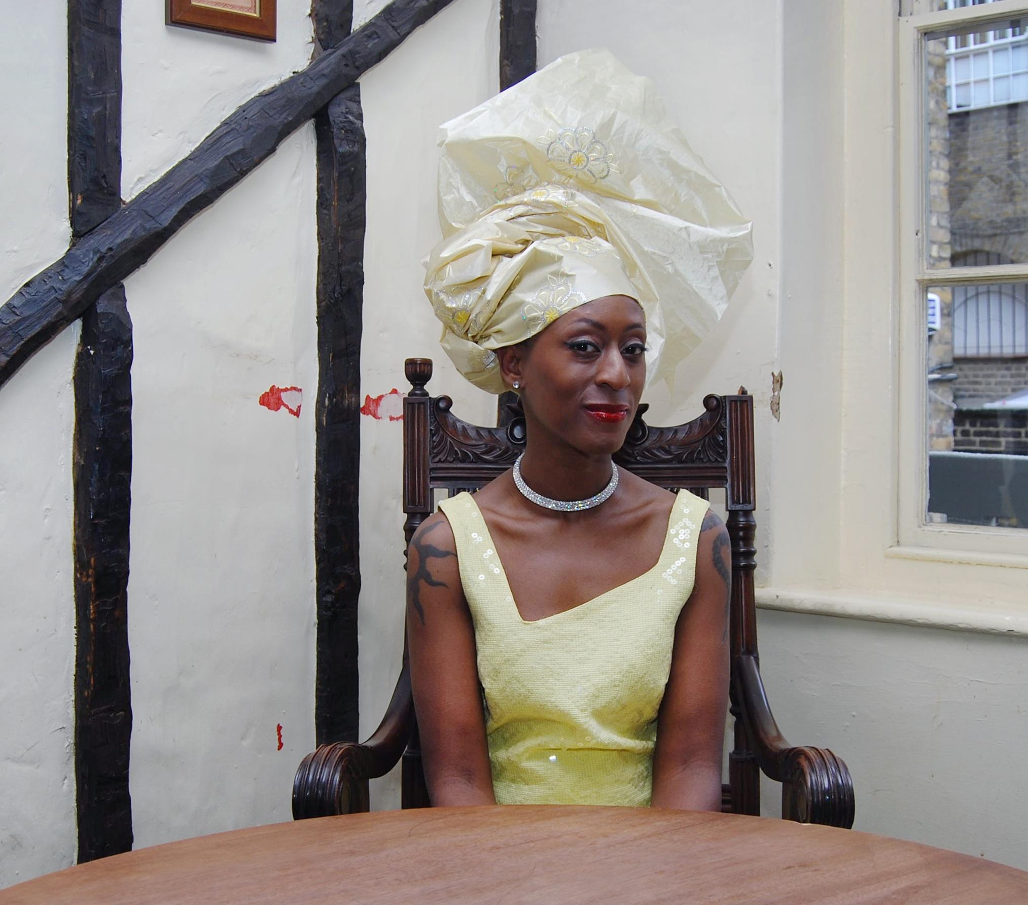 Patience Agbabi - wife of bafa - credit photo Lyndon Douglas courtesy Renaissance One.jpg